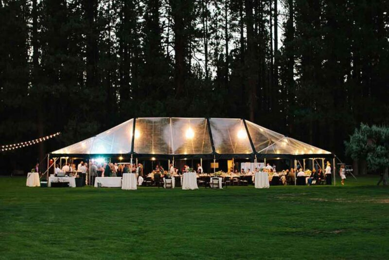 Clear Structure Tents
